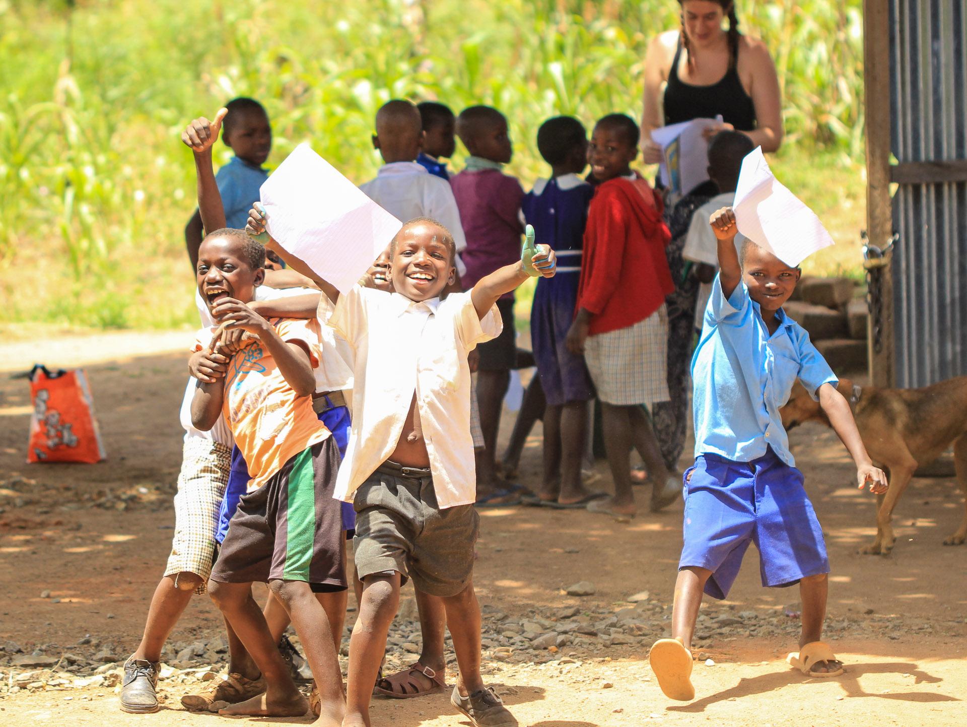 Volunteer in Kenya – I Simply Feel Part Of The Korando Family