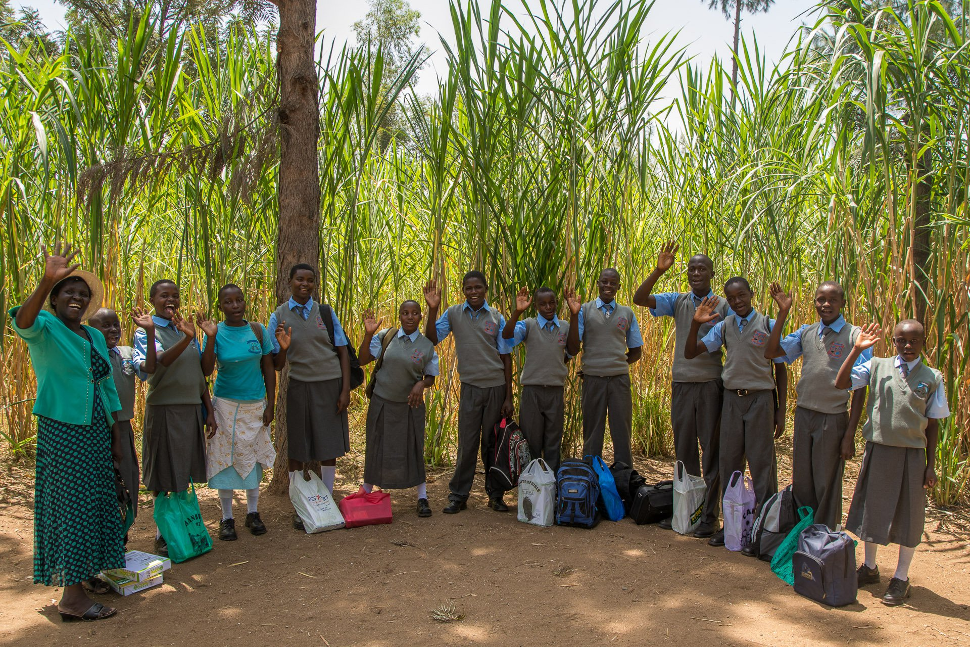 Sponsor a Child in Kenya - Our high school students at Better Me
