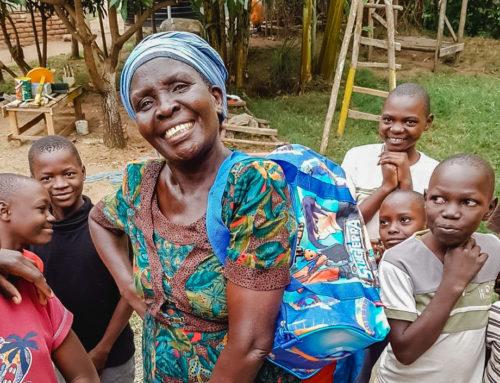 The precious Mama Dolfine – by Vivian Anyango from Kenya