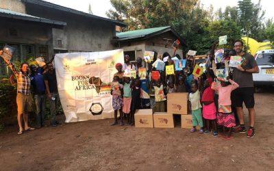 Books4Africa donates 1000 books